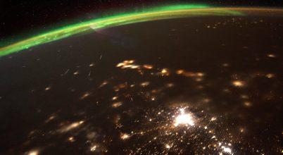 Látványos felvétel érkezett a világűrből