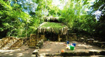 Maja palotát találtak a dzsungelben