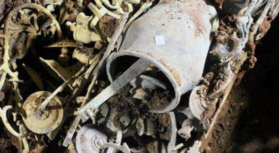 Leletekre bukkantak az elpusztított zsinagóga alatt