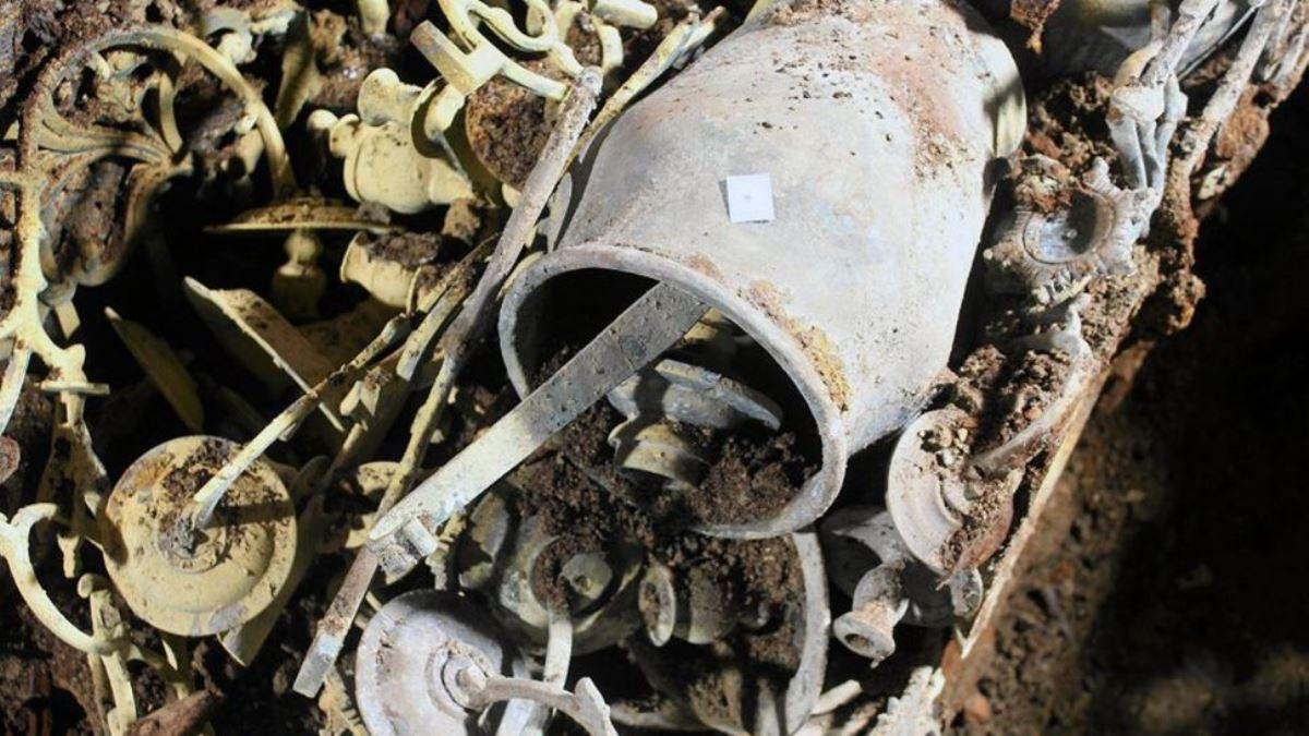 Leletekre bukkantak az elpusztított zsinagóga alatt | National Geographic