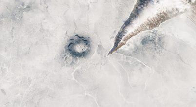 Rejtély a Bajkál-tó jegén