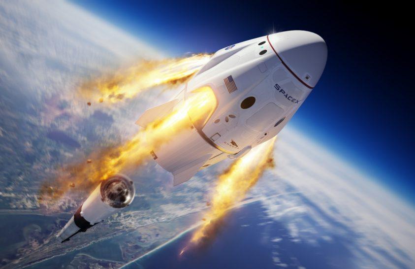 Jól sikerült a SpaceX legénységi űrhajó vészhelyzeti tesztje