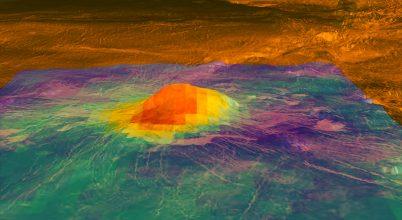 A Vénuszon jelenleg is működhet aktív vulkán