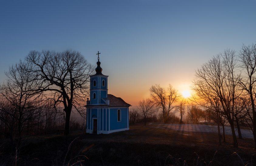 A nap képe: Kék kápolna