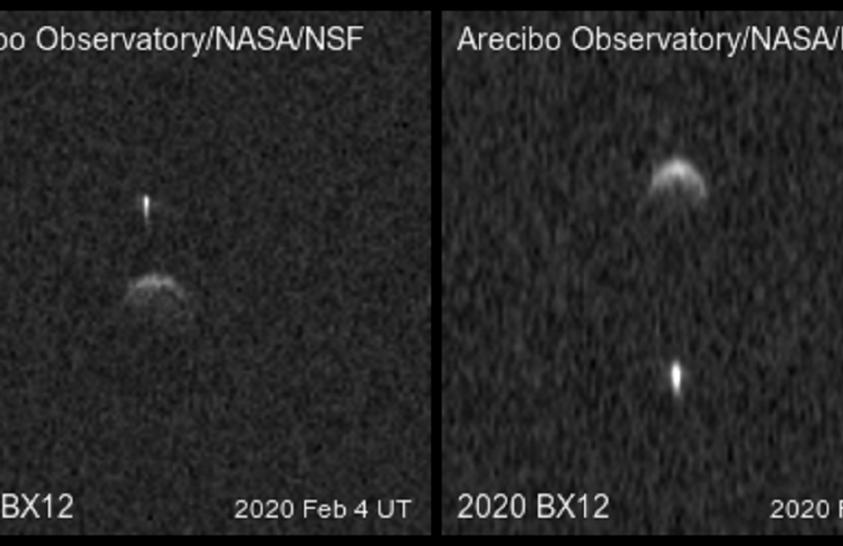 Parányi hold kísérte a Földet megközelítő aszteroidát
