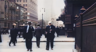 Százéves filmen elevenedik meg New York