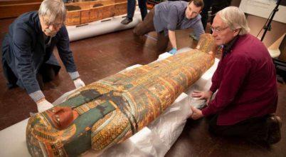Ókori szarkofágokat nyitottak fel a kutatók