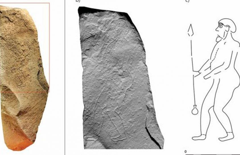 Faragott monolitot azonosítottak Skóciában
