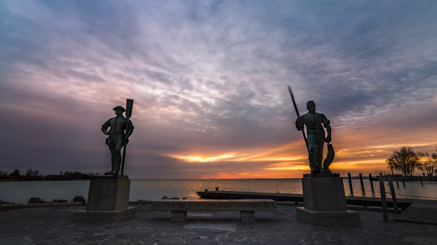 A nap képe: Halász és a révész – Balatonfüred