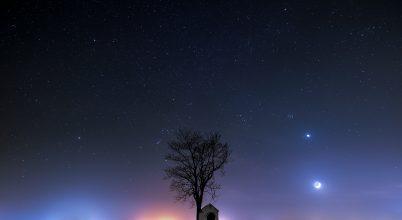A nap képe: Fények az éjszakában