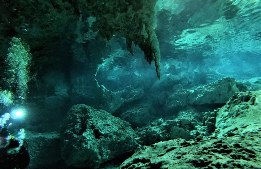 A maják szent helyei: a mexikói cenote barlangok