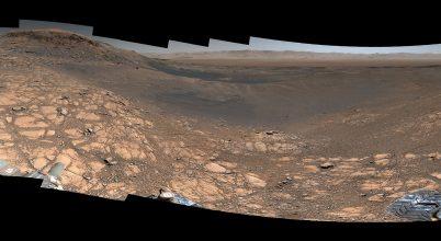 A Curiosity marsjáró eddigi legnagyobb panorámaképét készítette el