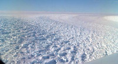 Jelentősen zsugorodott az antarktiszi gleccser
