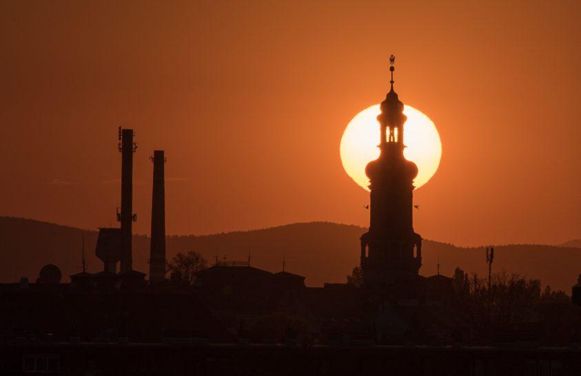 A nap képe: Soproni naplemente