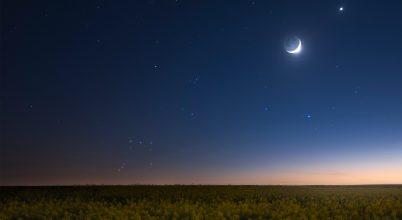 A nap képe: Lenyugszik az Orion