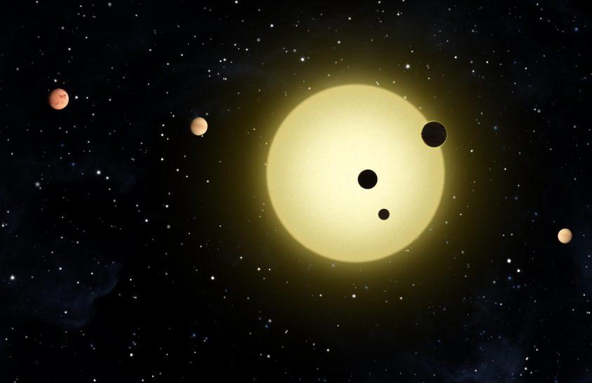 Különleges harmóniájú bolygórendszert találtak