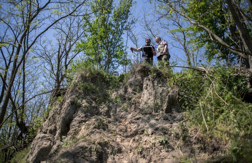 Kutatók dolgoznak a mohácsi csata feltételezett helyszínén