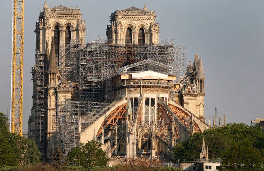 A Notre Dame felújítását félbeszakította a járvány