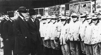 Gyors járványügyi intézkedések eredménye a spanyolnátha idején