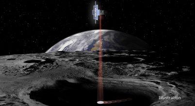Nanoműholddal világítanak be a sötét holdkráterekbe