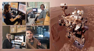 Otthonról irányítják a Curiosity marsjárót