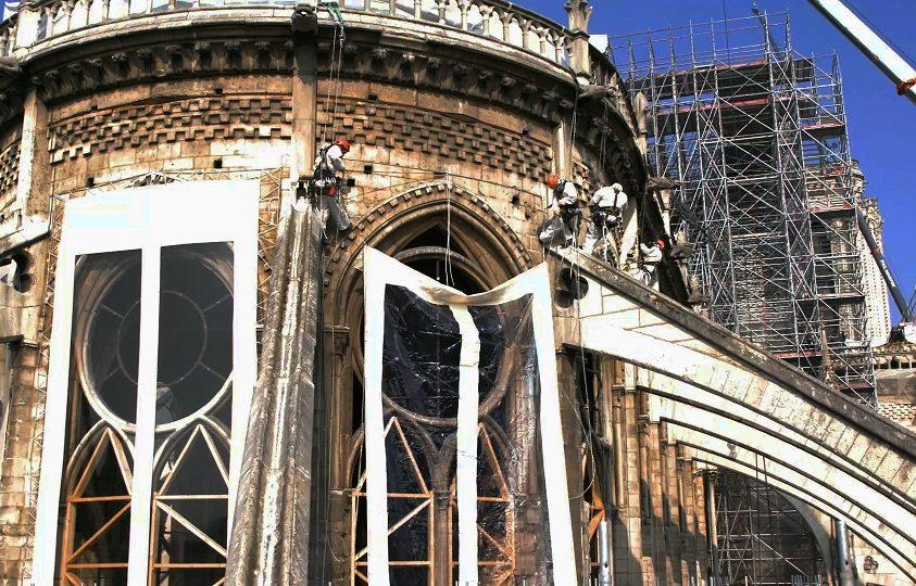 Így épül újjá a Notre-Dame – exkluzív felvételek a székesegyház rekonstrukciójáról
