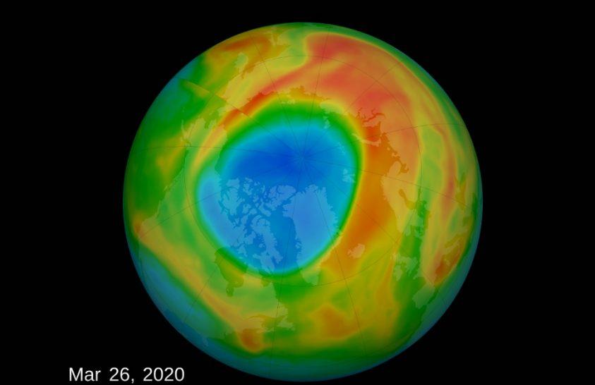 Megritkult az ózon az északi sarkvidék felett