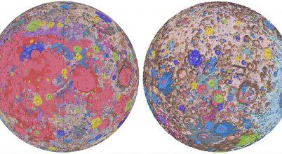 Közzé tették a Hold eddigi legrészletesebb geológiai térképét