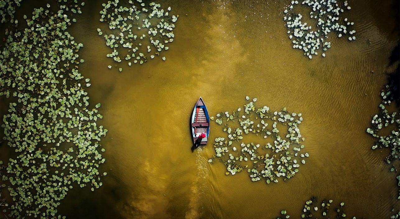 A nap képe: Víz alatti tejút