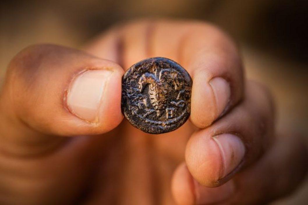 Különleges érmére bukkantak Izraelben | National Geographic