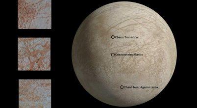 Újra feldolgozzák az Europa holdról készült régi felvételeket