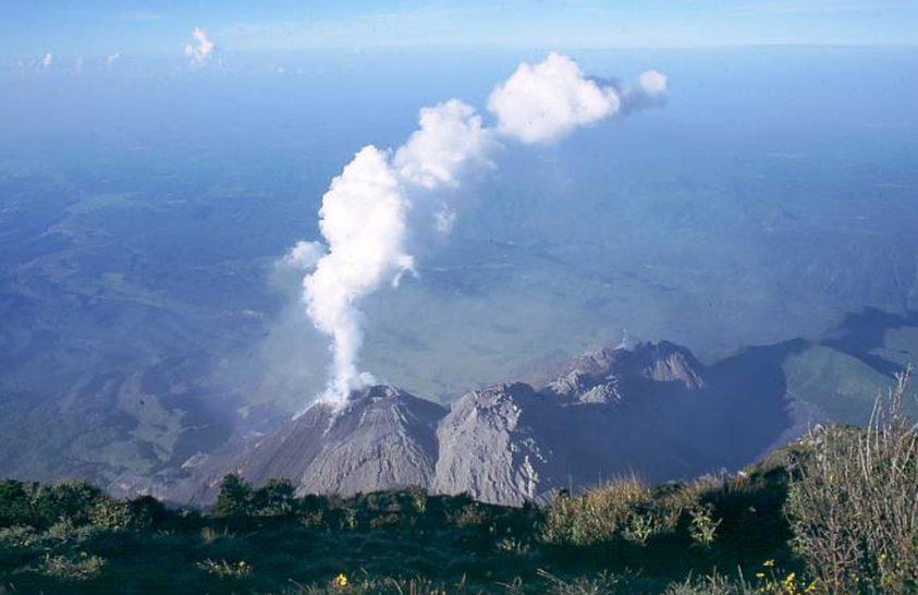 Drónok a vulkánkitörések vizsgálatában