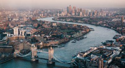London belvárosa a járvány első heteiben