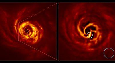 Egy exobolygó születését sikerült megfigyelni