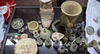 Közel 20 ezer illegálisan beszerzett műtárgyat foglaltak le