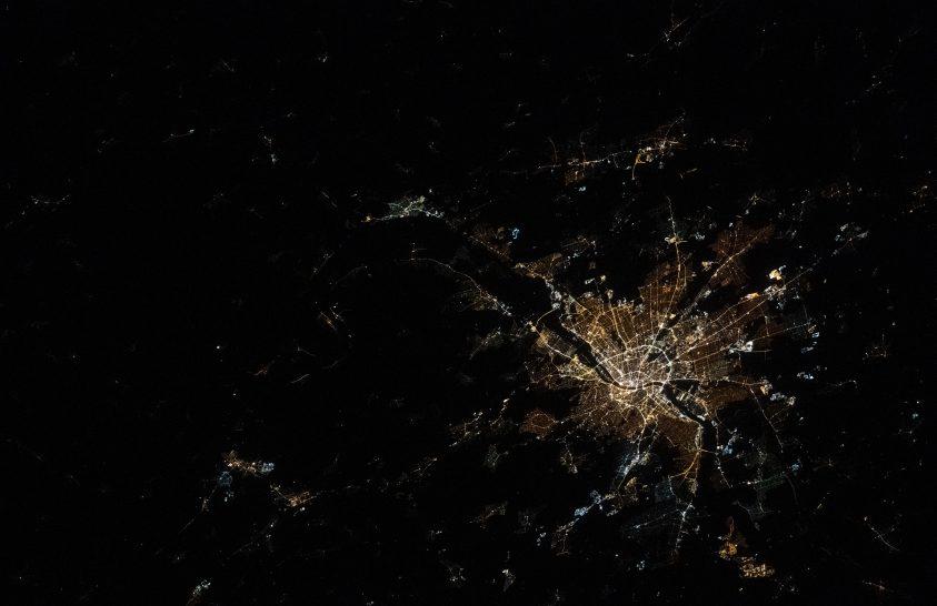Ismét egy különleges fotón látható az éjszakai Budapest