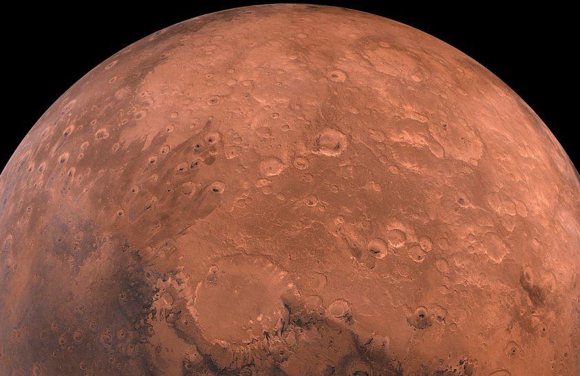 A Marson a lávabarlangok jelenthetik a biztonságot
