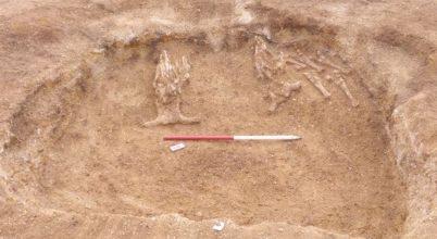 Bronzkori törzsfőnök sírjára bukkantak