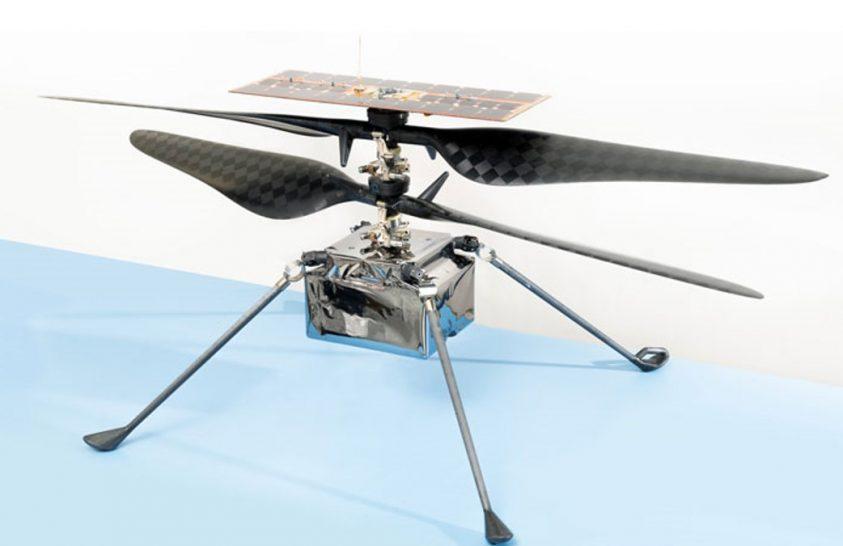Elindulhat a NASA Mars-helikoptere