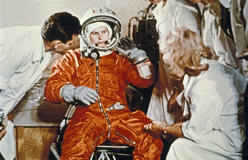 Tyereskova, az első nő a világűrben