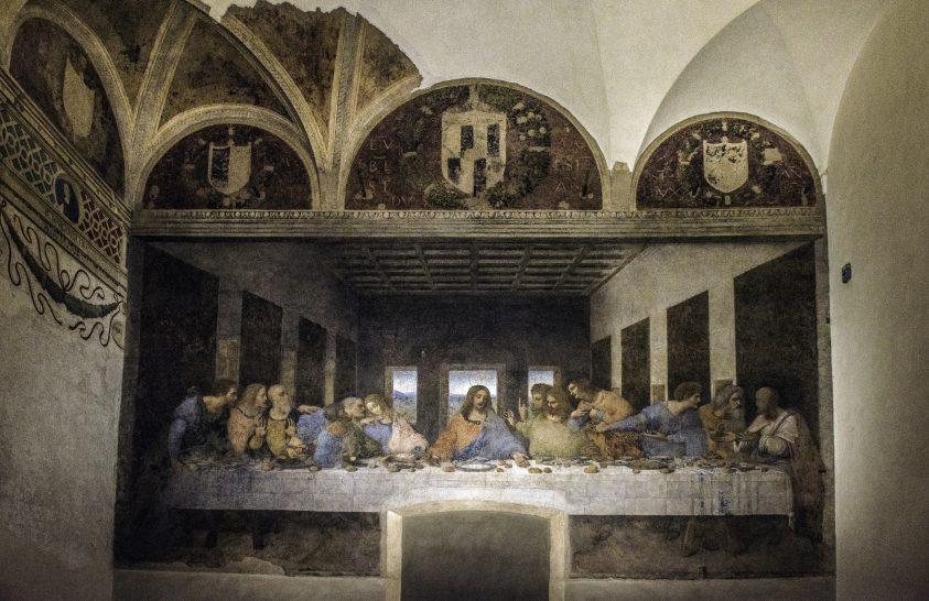 Elkészült az Utolsó vacsora nagyfelbontású, interaktív, online változata