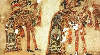 Különleges falfestményeket találtak egy maja házban