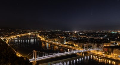 Budapest panoráma – üstökössel