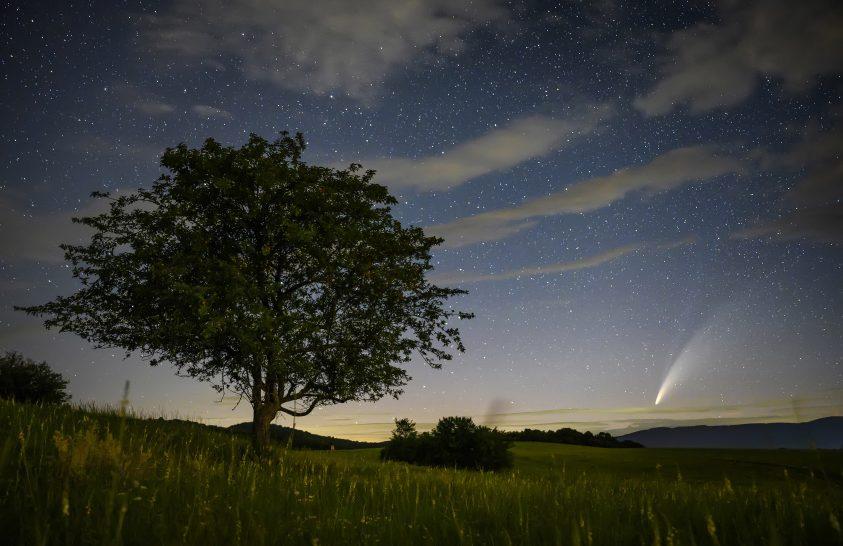 A nap képe: Neowise üstökös