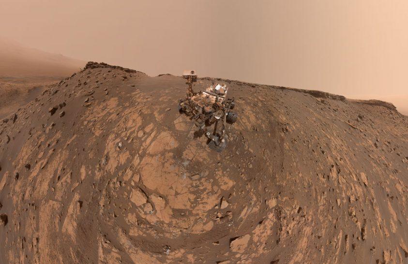 Hosszú útra indult a Curiosity rover