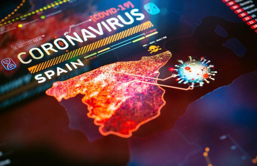 A spanyolországi koronavírus-szűrés eredménye