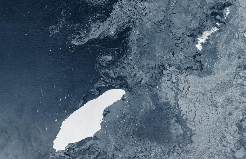 3 éve vált le az A-68 jégtábla
