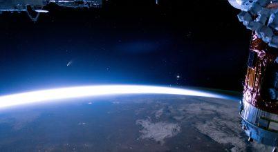 Az Űrállomásról is megörökítették a NEOWISE üstököst