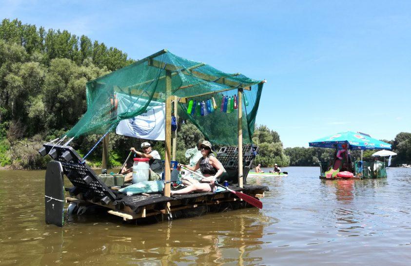 Nyolc tonna hulladék a Záhony és Tokaj közötti folyószakaszról