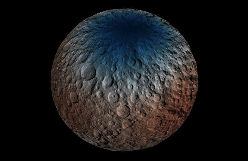 A Naprendszer legfurcsább kráterét vizsgálták